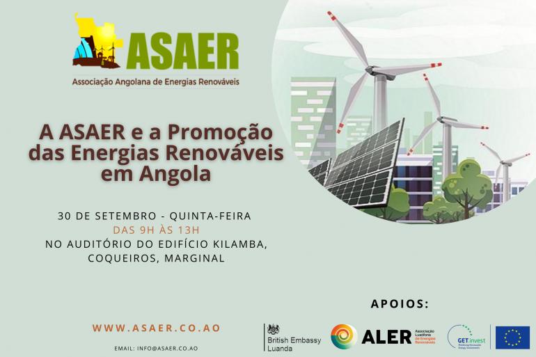 A ASAER e a promoção das energias renováveis em Angola.
